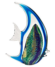 Badash Crystal Angel Fish Sculpture