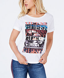 GUESS Short-Sleeve Logo T-Shirt