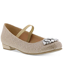 Badgley Mischka Little & Big Girls Marina Stones Shoes