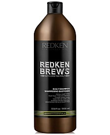 Redken Brews Daily Shampoo, 33.8-oz., from PUREBEAUTY Salon & Spa