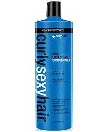 Curly Sexy Hair Curl Enhancing Conditioner, 33.8-oz., from PUREBEAUTY Salon & Spa