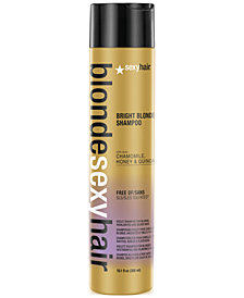 Sexy Hair Blonde Sexy Hair Bright Blonde Violet Shampoo, 10.1-oz., from PUREBEAUTY Salon & Spa