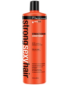 Sexy Hair Strong Sexy Hair Strengthening Conditioner, 33.8-oz., from PUREBEAUTY Salon & Spa