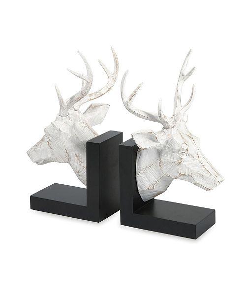 IMAX Joseph Deer Bookends - Set of 2