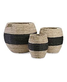 Dorran Woven Baskets - Set of 3