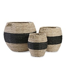 Imax Dorran Woven Baskets - Set of 3