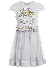 Hello Kitty Little Girls Graphic-Print Dress