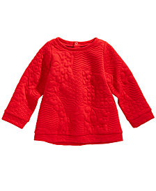 First Impressions Baby Girls Quilted Tunic, Created for Macy's