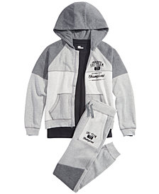 Epic Threads Big Boys Ski Team Hoodie & Joggers Separates, Created for Macy's