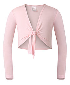 Flo Dancewear Toddler, Little & Big Girls Tie-Front Bolero