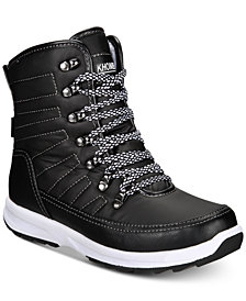 Khombu Women's Elsa Waterproof Winter Boots