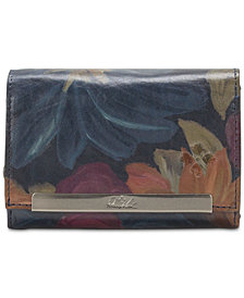 Patricia Nash Cametti Printed Leather Wallet
