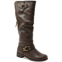 Deals on XOXO Minkler Wide Calf Riding Boots