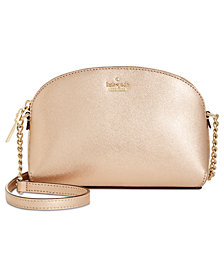 kate spade new york Cameron Street Hilli Small Saffiano Leather Crossbody