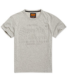 Superdry Men's Premium Goods Logo Embossed T-Shirt