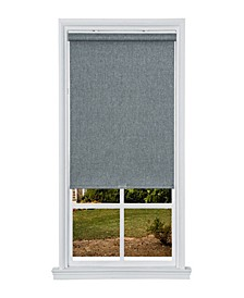 """Cordless Textured Thermal Fabric Roller Shade, 31""""  W x 66"""""""
