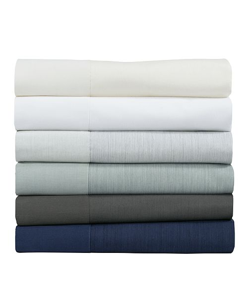 Michael Aram Striated Band Flat Sheet Collection