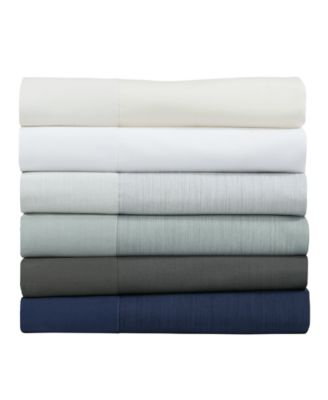 Striated Band King Fitted Sheet