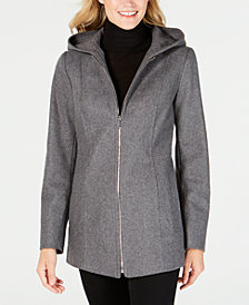 London Fog Hooded Coat