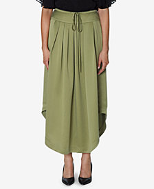 INSPR x Natalie Off Duty Satin Maxi Skirt, Created for Macy's
