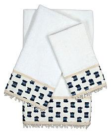 Sherry Kline O'Fifi 3-piece Embellished Towel Set