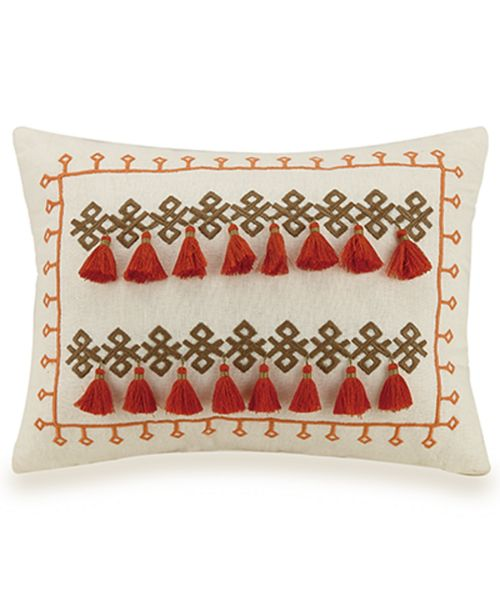 "Jessica Simpson Caicos 12""x16"" Decorative Pillow"