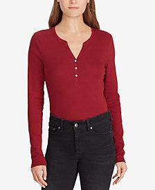 Ralph Lauren Petite Henley Shirt