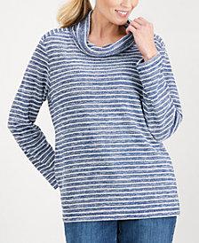 Karen Scott Cowl-Neck Top, Created for Macy's