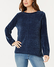 Style & Co Chenille Sweater, Created for Macy's