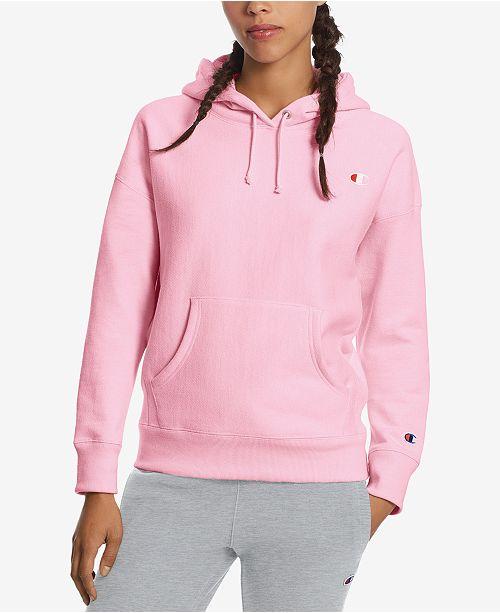 Women Hoodieamp; Reviews Tops Weave Reverse Champion Fleece lFJK1Tc