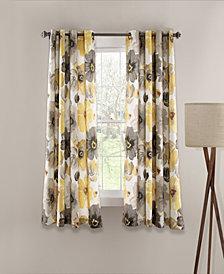 "Leah 63"" x 52"" Room Darkening Window Curtain Set"