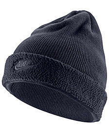 Nike Men's Sportswear Fleece-Cuff Beanie