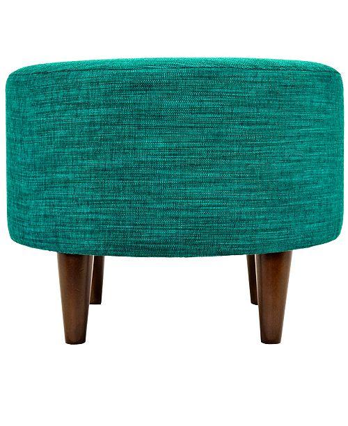 Admirable Sophia Upholstered Round Ottoman Ibusinesslaw Wood Chair Design Ideas Ibusinesslaworg