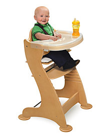 Badger Basket Embassy Adjustable Wood High Chair