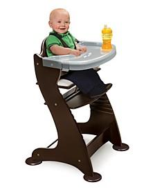 Unisex Embassy Adjustable Wood High Chair