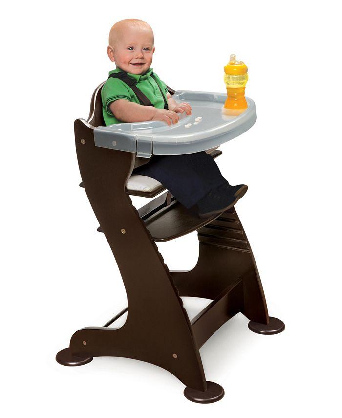 Badger Basket - Embassy Adjustable Wood High Chair