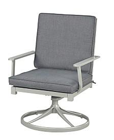 Home Styles South Beach Swivel Rocking Chair