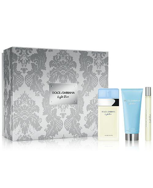 Dolce & Gabbana DOLCE&GABBANA 3-Pc. Light Blue Eau de Toilette Gift Set