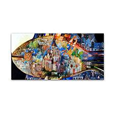Oxana Ziaka 'Mont Saint Michel' Canvas Art Collection