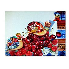 Oxana Ziaka 'Hedgehogs' Canvas Art Collection