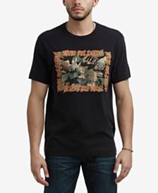 True Religion Men's Mixed Logo T-Shirt