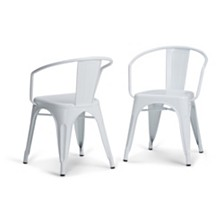 Set of 2 Larkin Dining Chair, Quick Ship