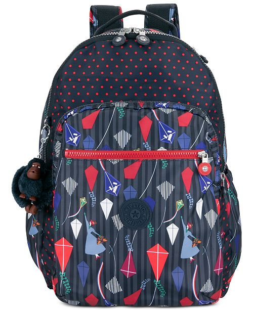 9cf49fe7e5 Kipling Disney's® Mary Poppins Seoul Go Printed Laptop Backpack ...