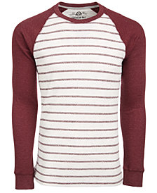 American Rag Men's Hash Stripe Raglan-Sleeve Thermal T-Shirt, Created for Macy's