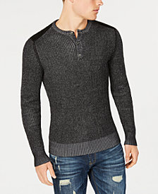 American Rag Men's Vintage Henley, Created for Macy's