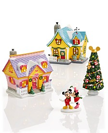 Department 56 Disney Mickey's Christmas Village Collection