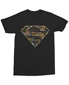 Camo Superman Men's Graphic T-Shirt