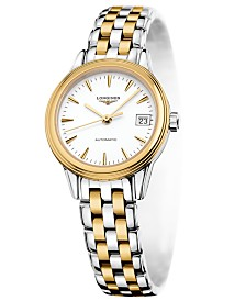 Longines Women's Swiss Automatic Flagship Two Tone Stainless Steel Bracelet Watch L42743227