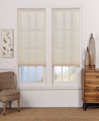 Cordless Light Filtering Pleated Shade, 57x64