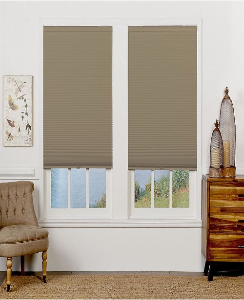 "The Cordless Collection Cordless Light Filtering Double Cellular Shade, 46.5"" x 72"""
